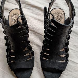 Vince Camuto Eliaz Heeled Sandal - All Black